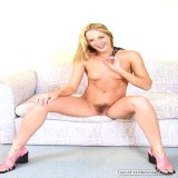 Wife Lovers : Fresh gracious housewife Amber widening shes nice legs