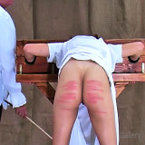 Spanking Videos : Tinas Guillotine Caning , enjoy!