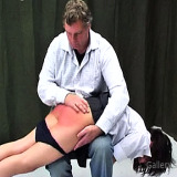 Spanking Videos : Schoolgirl thrashing stripped