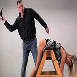 Spanking Videos : Paddle for bare a-hole