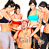 CFNM Videos : Sexual 4 super hot pilates chicks fucked inside the gym by instructor ideal 4 women 2 guy group sex video for real