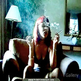 Smoking Fetish : Bad girl Smoking for real
