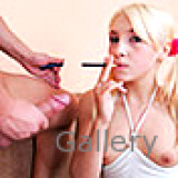 Smoking Fetish : Gorgeous golden-haired cant stop smoking. porno
