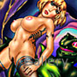 Adult Comics : Monsters fuck human babes