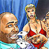 Adult Comics : Saving blow job in the casino , have a fun!