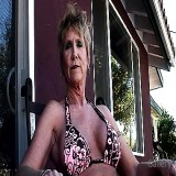 Granny Pussy : Hot Mature whore Jizzed On biggest Fake meatballs