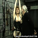 Bondage Sex : Erotic beautiful Kat abused , enjoy!