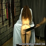 Bondage Sex : Nicoles Stern Paddling Session for real