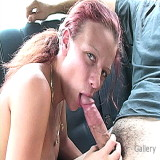 Blowjob Videos : Free Redhead Sucks dong For Ride Home xxx
