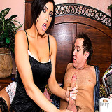 Mature Women : Adult perfect MILF Dylan Ryder Eats biggest Tool